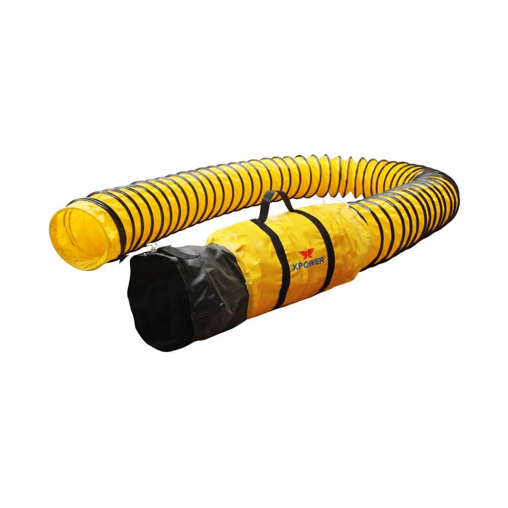 XPOWER 8DH25 Ducting hose for confined space fan X-12